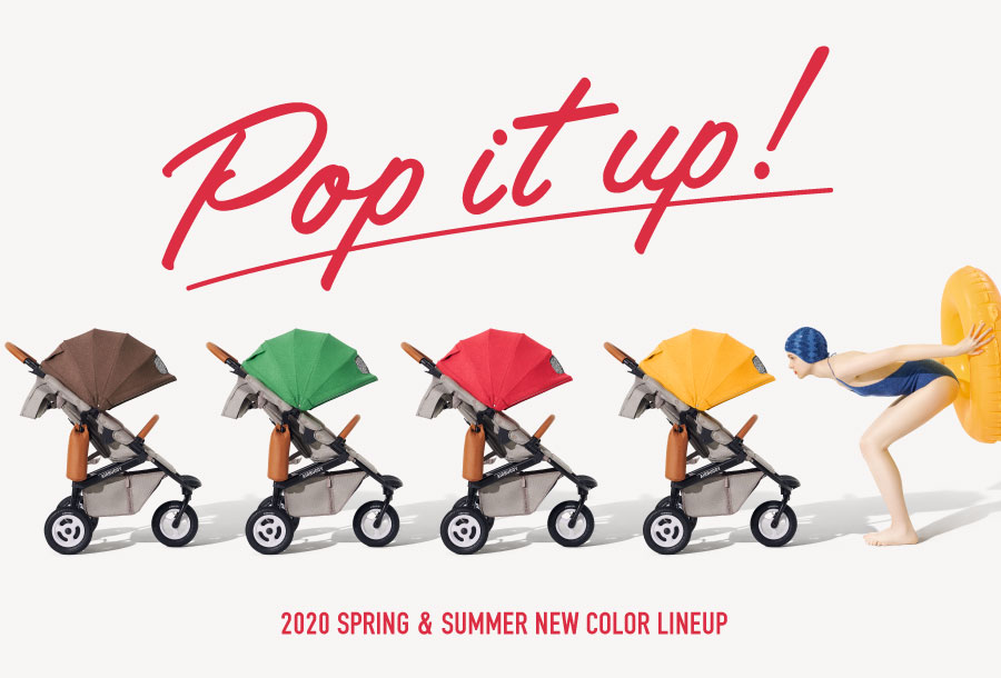 2020 SPRING & SUMMER AIRBUGGY NEW COLOR LINEUP